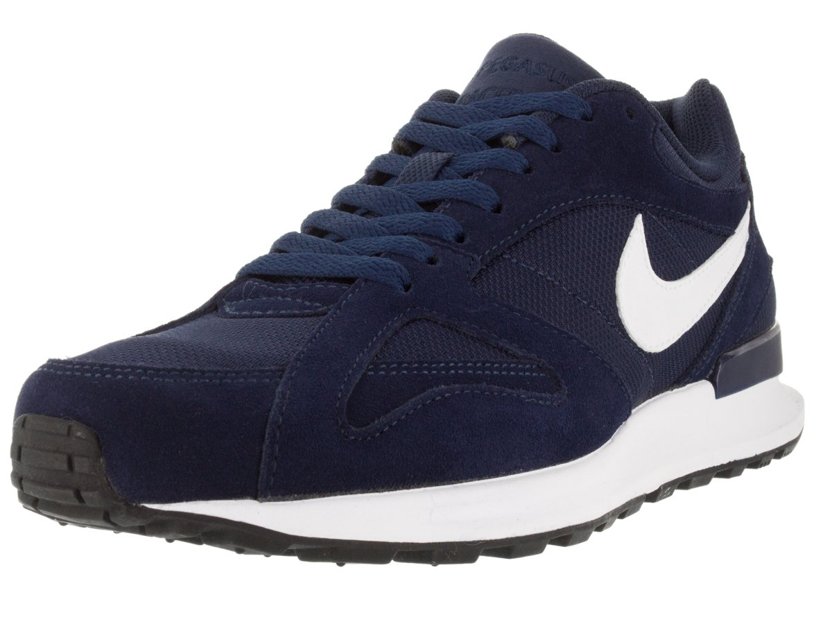 Nike Air Pegasus New Racer, Zapatillas de Running para Hombre 41 EU|Azul / Blanco (Midnight Navy/White-white)