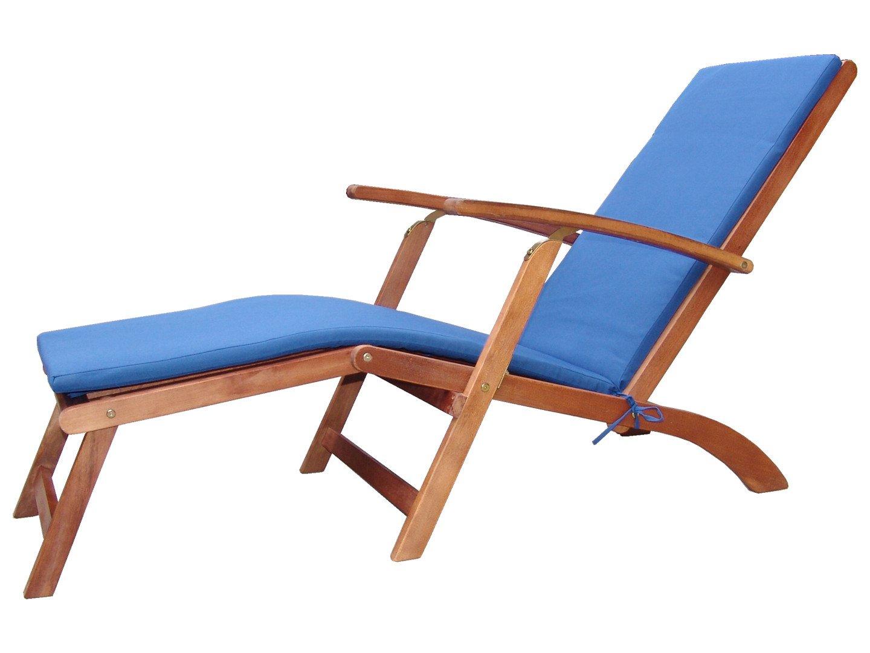 Hervorragend Holz Sonnenliege Gartenliege Deckchair Liege Liegestuhl  SJ76
