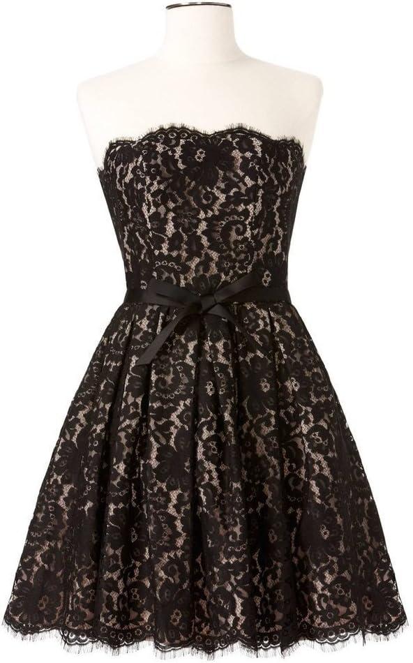 Black Lace Cocktail Dress Size