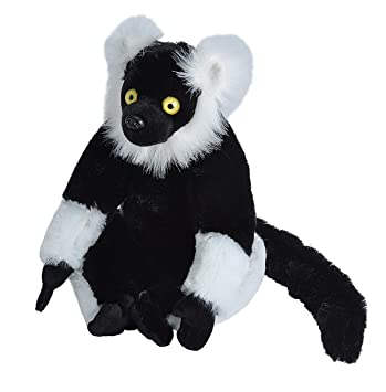Amazon Com Wild Republic Lemur Plush Stuffed Animal Plush Toy