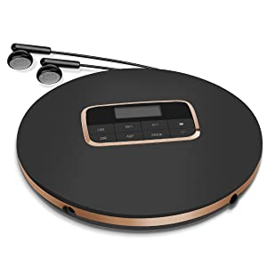 Wrcibo Slim Personal CD Player