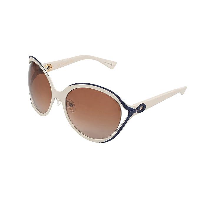 0ed7921bac DIOR Sunglasses ELLE 1 S 06Mu Matte White 61MM  Amazon.ca  Clothing    Accessories