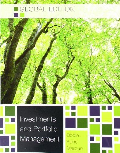 Investments and Portfolio Mangement