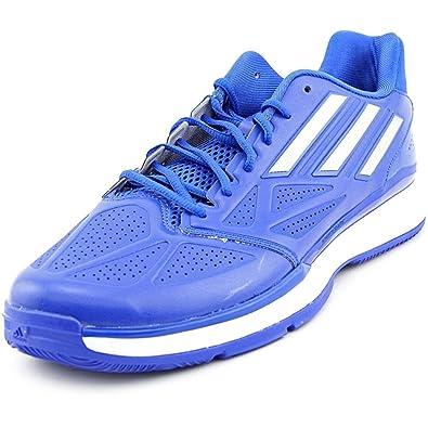 db27fe28e747da adidas Pro Smooth Lo Men US 10 Blue Basketball Shoe  Amazon.co.uk  Shoes    Bags