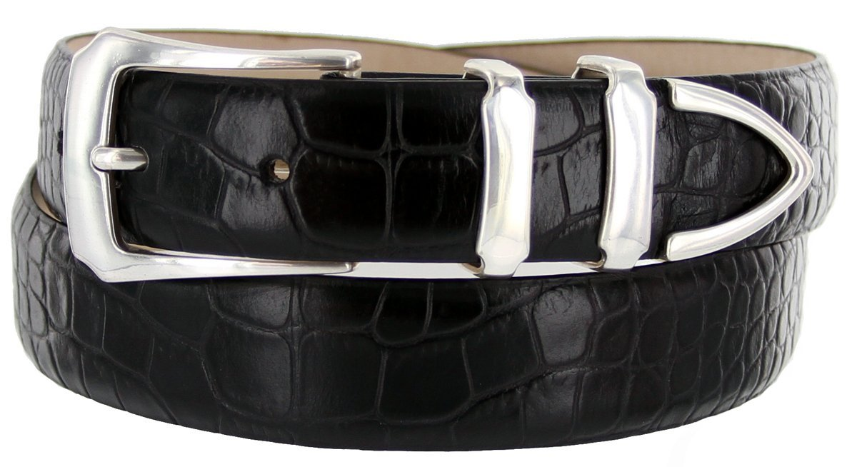 Belts.com ACCESSORY メンズ B00D6WI5EW 50|ブラック(Alligator Black) ブラック(Alligator Black) 50