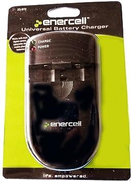 Amazon.com: Enercell 23 – 972 universal cargador de batería ...