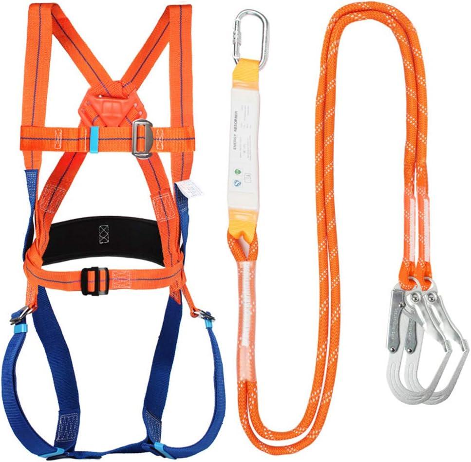 SASKATE Kit de Seguridad para PrevencióN de CaíDas, Kit de ArnéS Seguridad para Trabajo Gran Altitud, Kit de ProteccióN Seguridad para ArnéS ...