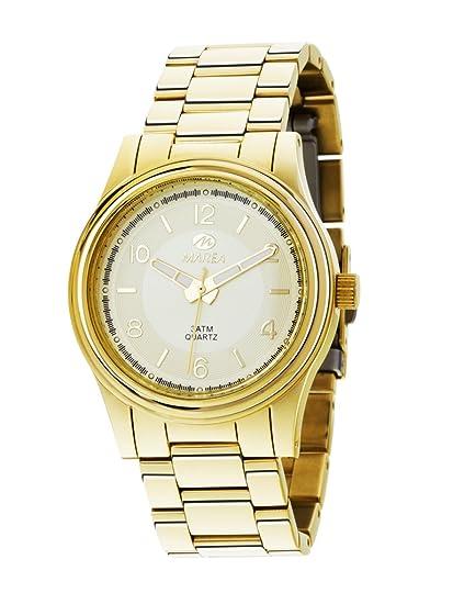 b40e5aaf449 Reloj Marea Mujer B54014 2 Dorado  Amazon.es  Relojes