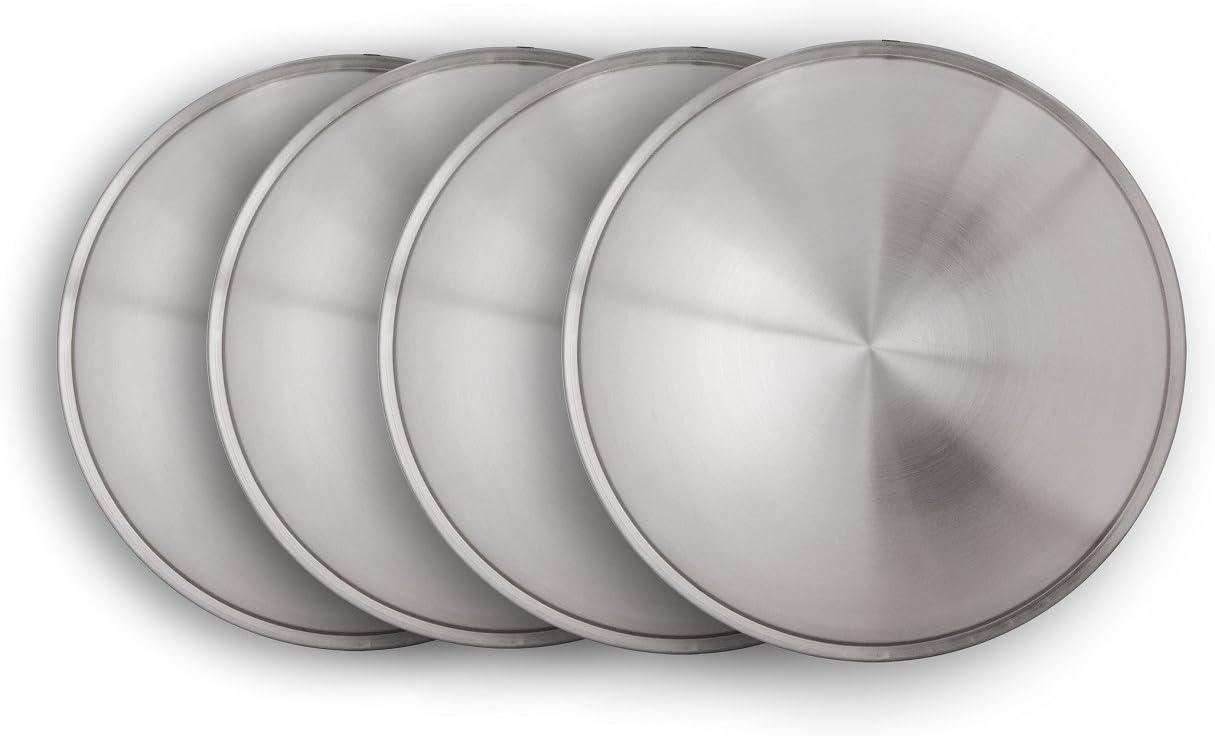 Universell passendendes Radzierblendenset 4 St/ück 15 Zoll Moon Caps f/ür Transporter und PKW.
