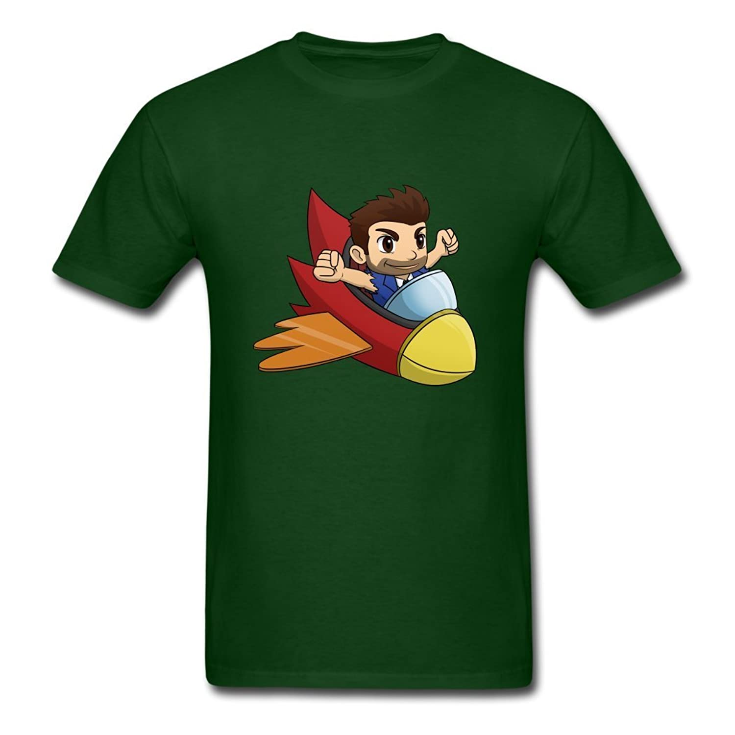 phiboter Jetpack Rush Summer Style Males T-Shirts