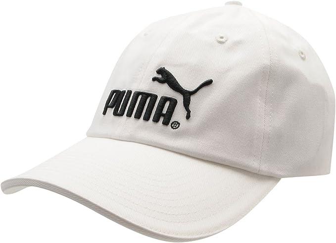 PUM - Gorra de béisbol - para hombre blanco / negro Talla única ...