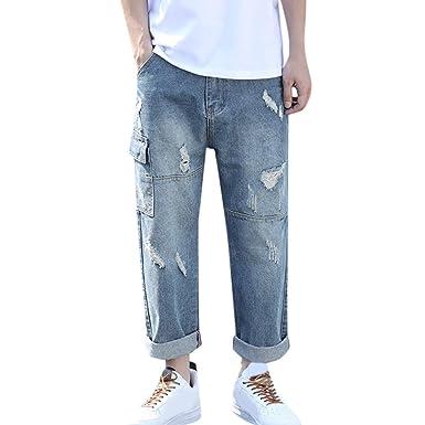GUCIStyle-ropa Moda Verano Casual Doblar los Pantalones ...