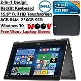 Dell i7559-3763BLK Inspiron 15 7000 series Laptop, Black