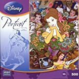 Disney Princess Belle Portrait Series 500 Piece Puzzle
