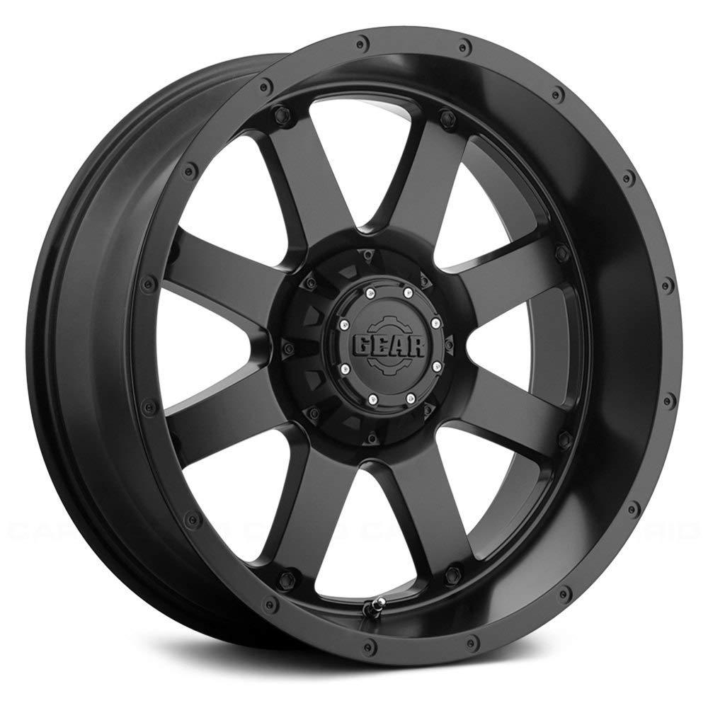 Gear Alloy 726B Big Block Satin Black Wheel with 20x9//6x135, 18mm Offset