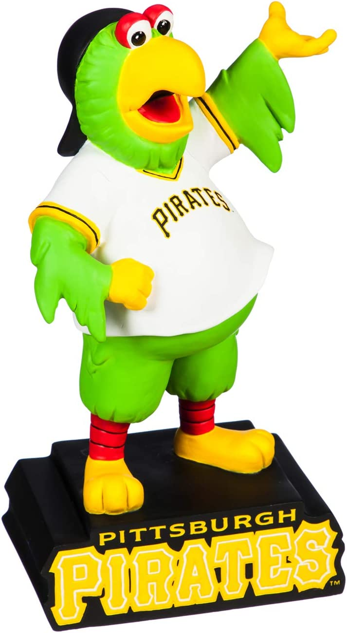 Evergreen MLB Pittsburgh Pirates Mascot DesignGarden Statue, Team Colors, One Size