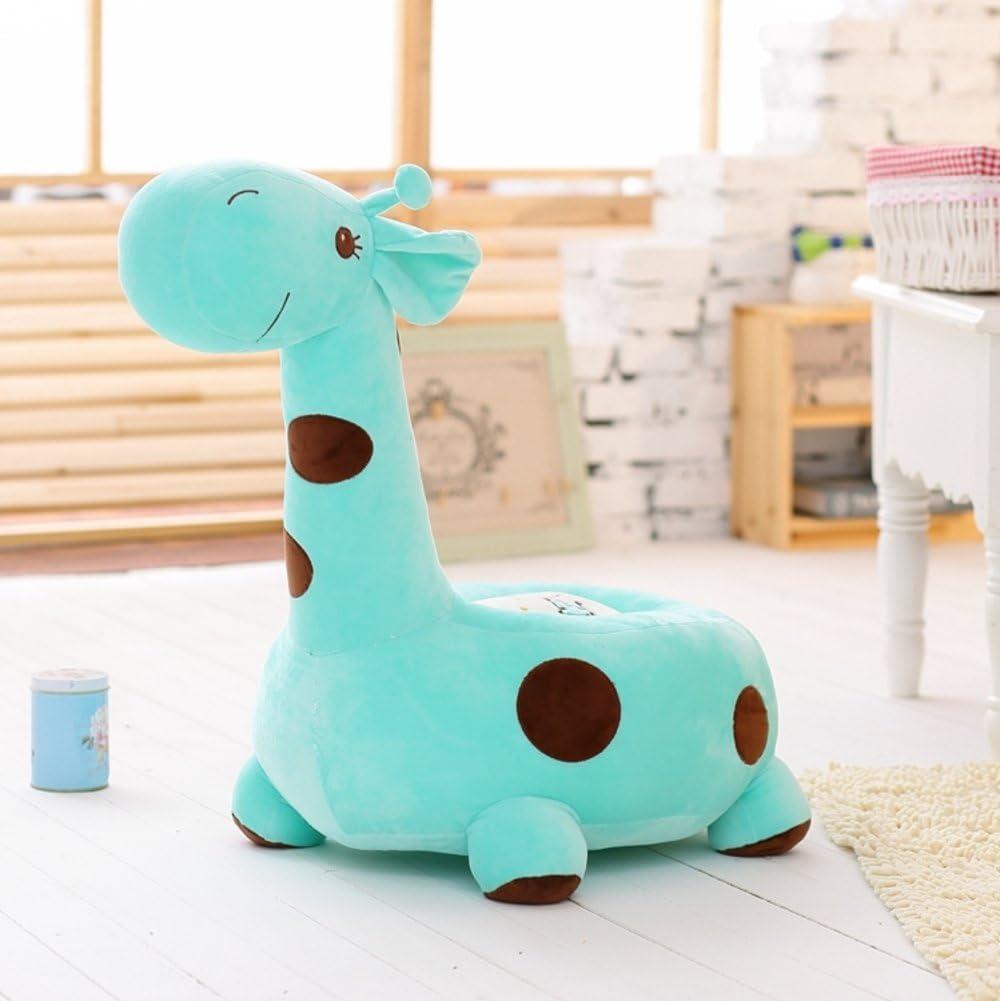 Private home textiles Child Floor Chair,Giraffe Sofa Lazy,Sofa Stool 卡通 Mini Sofa Toy Stool-Green