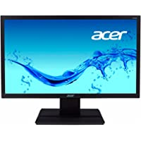 Acer V6 V206HQL 19.5 inch (49.53 cm) Widescreen LCD Monitor (Black) with VGA and DVI