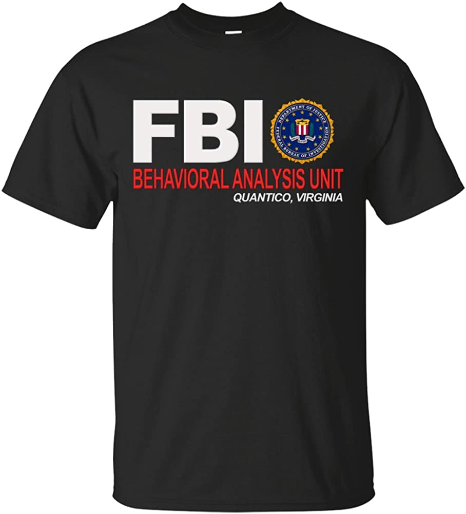 Nouveaux États-Unis FBI Academy Quantico va Police T-Shirt
