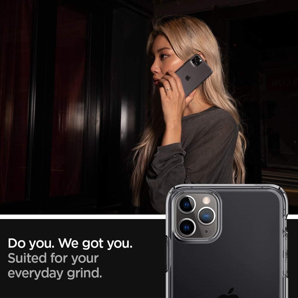 Spigen Liquid Crystal Hülle Kompatibel Mit Iphone 11 Pro Max Space Crystal Elektronik