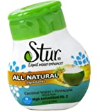 Stur - Liquid Water Enhancer Coconut Water + Pineapple - 1.28 oz.