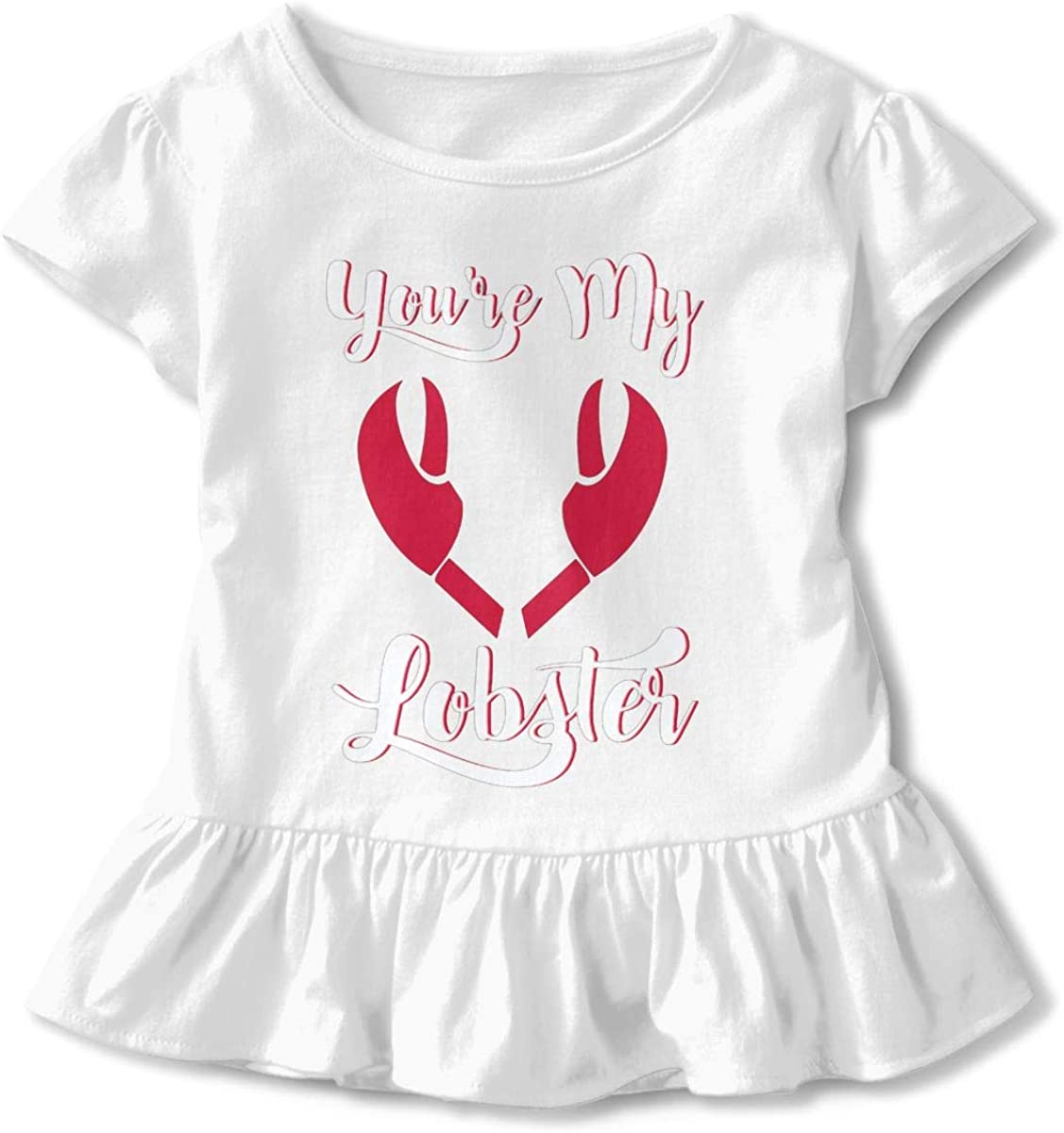 NMDJC CCQ Youre My Lobster Crackers Baby Skirts Fashion Kids T Shirt Dress Soft Flounces Jumpsuit
