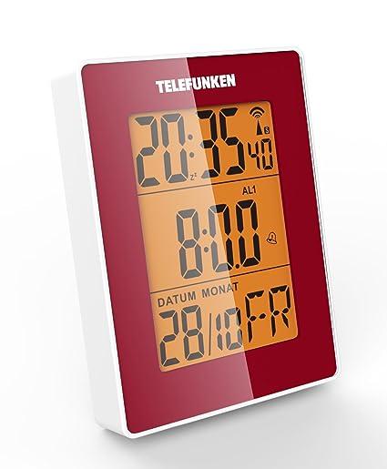 Telefunken FUD de 30 de S (R) LCD de radio despertador con sensor de