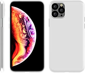 Minimal Case Compatible with iPhone 11 Pro (Frosted White)
