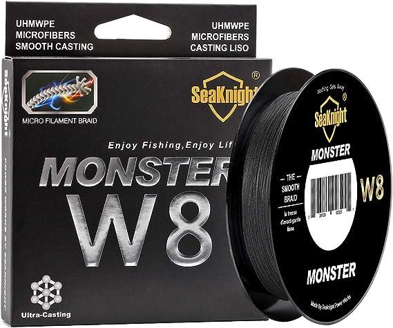 SeaKnight Monster W8 Trenzado líneas 8 Strands Weaves 150 m ...