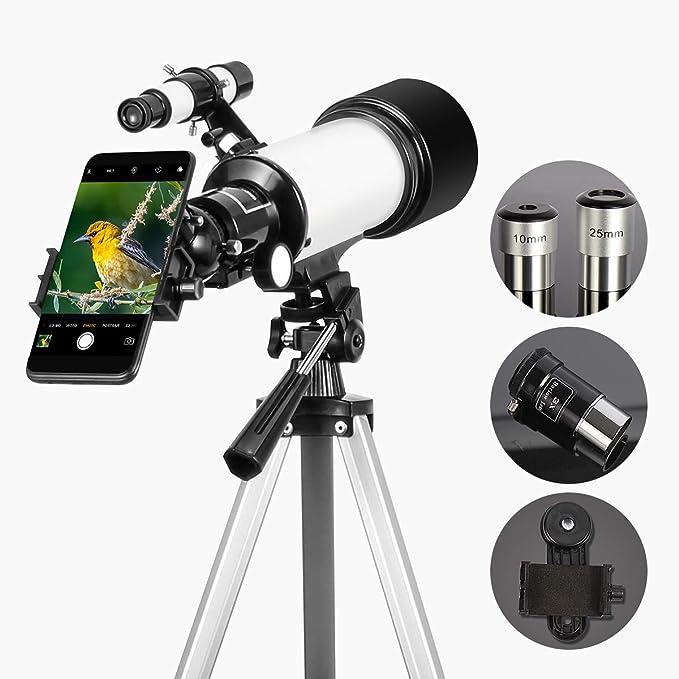 Solomark 70mm Aperture Travel Teleskop 400mm Az Kamera