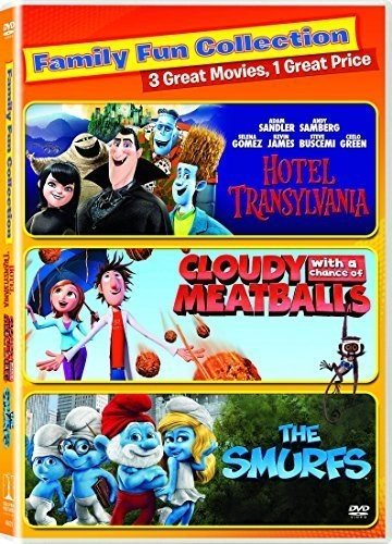 Balloon Hotel - Cloudy with a Chance of Meatballs / Hotel Transylvania - Vol / Smurfs, the (2011) - Set