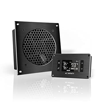 AC Infinity AIRPLATE T3, Quiet Cooling Fan System with Thermostat ...