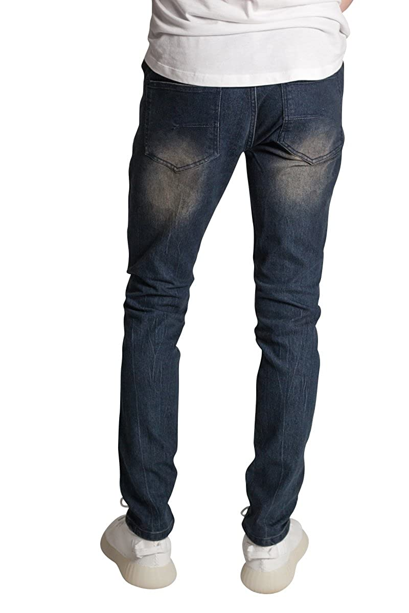 af4113fd880 KDNK Vertical Moto Patch Skinny Jeans at Amazon Men's Clothing store: