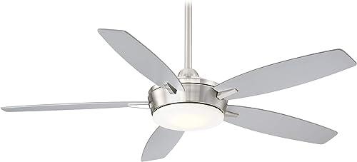 Minka-Aire F690L-BN/SL Espace 52 Inch Ceiling Fan