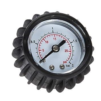 DEWIN Barco medidor de Aire - 30PSI 2Bar Barómetro de presión de ...