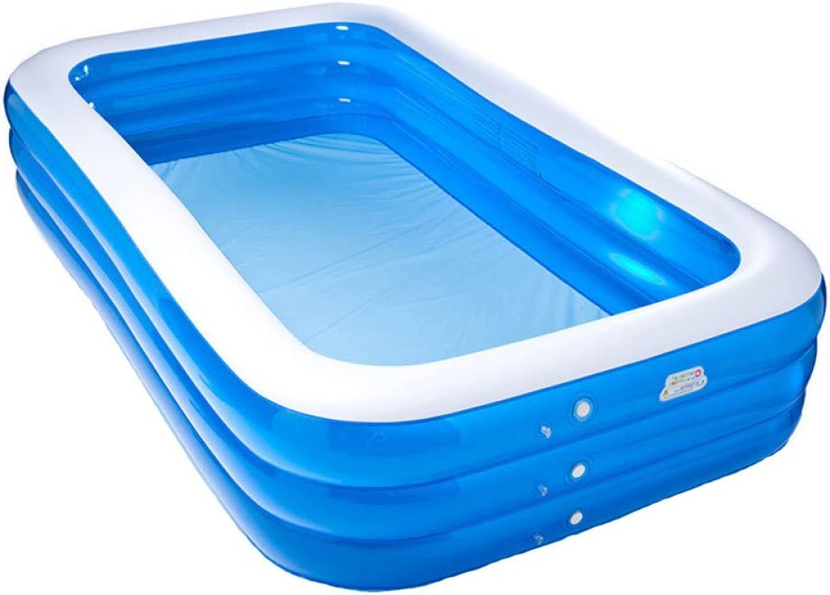YIWANGO Piscina Inflable PVC Piscina Inflable De La Familia ...
