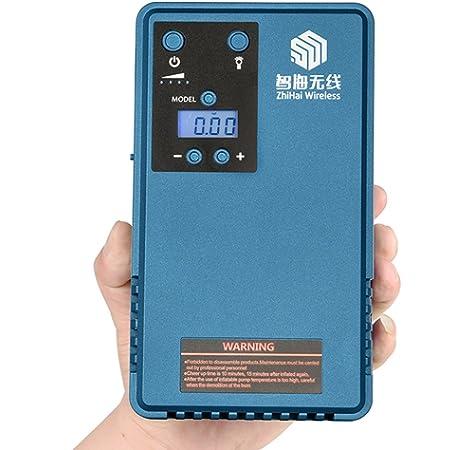 Arrancador de coches, compresor aire coche, bateria coche,Jump starter , energía neumático manómetro digital móvil,con 10200MA de capacidad de la batería, ...