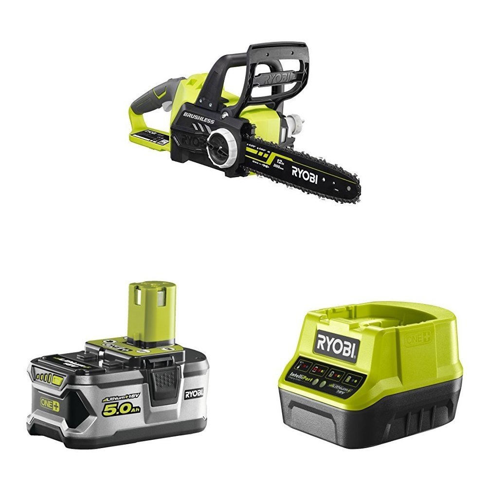 Ryobi RRS1801M ONE+ 18 V Reciprocating Saw with Lithium+ 2.5Ah Battery and Charger