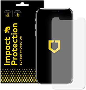 RhinoShield Screen Protector compatible with [iPhone 11 / XR] | Impact Protection - High Strength Impact Damping/Dispersion Technology - Clear and Scratch/Fingerprint Resistant Screen Protection