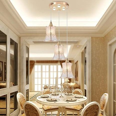 Aoligei Moderno semplice scolpito lampadari sala da pranzo ...