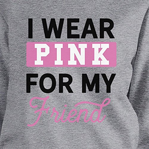 Longues Printing shirt Unique Manches Sweat Pink My For Femme Taille Wear 365 Friend I CgqIwg