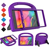 BMOUO for Samsung Galaxy Tab A 8.0 Case 2019 SM-T290/T295, Tab A 8.0 2019 Case with Screen Protector, Shockproof Light Weight