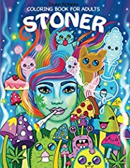 Stoner Coloring Book for Adults: The Stoner's Psychedelic Coloring