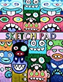 Sketch Pad: Graffiti Art Cover - Sketch Book for kids and adults - Blank Drawing Pad to Practice How to Draw Doodle and Color Extra Large 8.5 x 11 (Graffiti Urban Art)