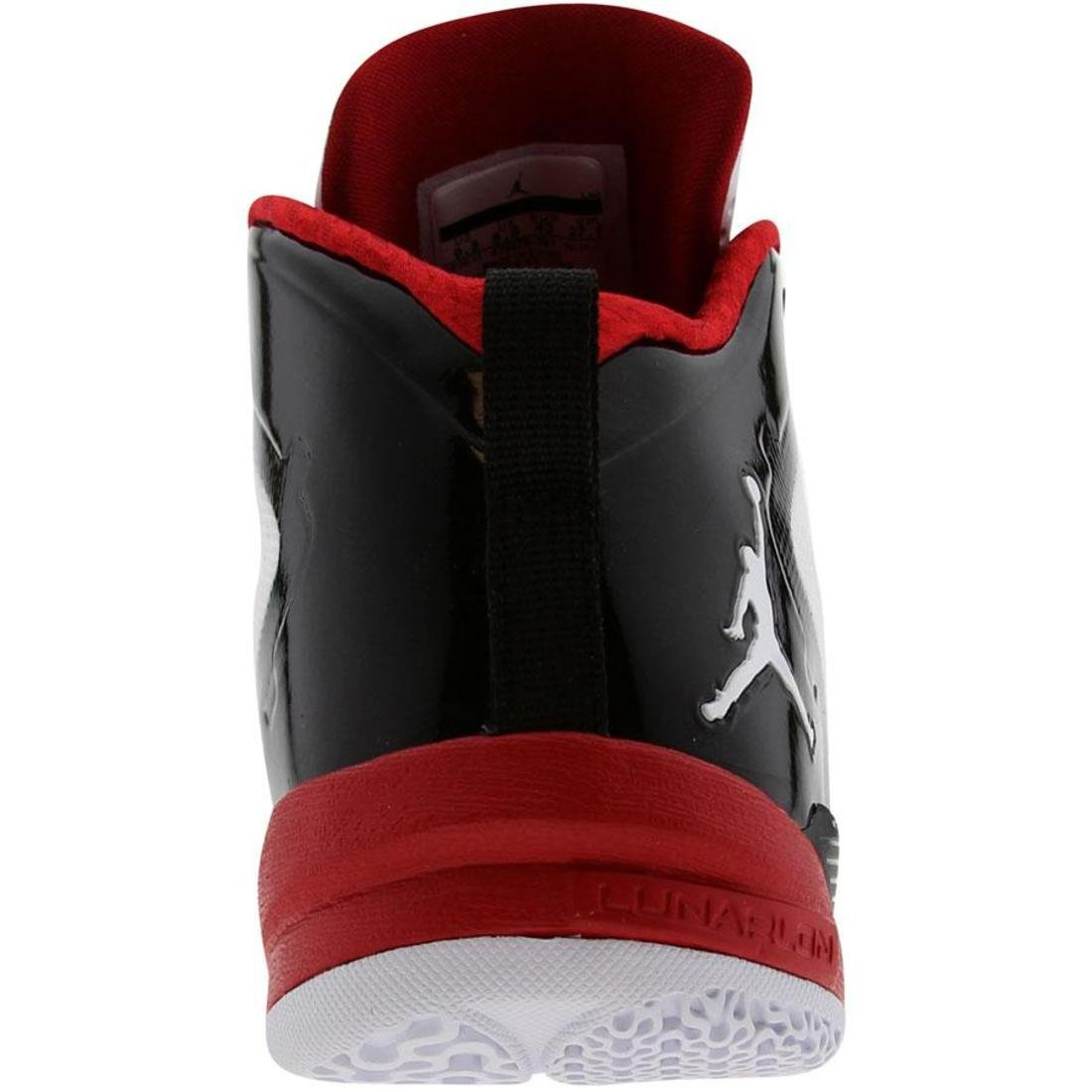 size 40 f42c4 9ef32 Amazon.com   Nike Men s Jordan Fly Wade 2 Basketball Shoe White Black  Varsity  Red   Basketball