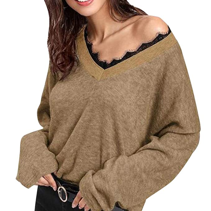 Amazon.com: Mililian camisetas para mujer, moda de color ...
