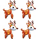4 Pack Large 3D Deer Airwalker Walking Animal Balloons