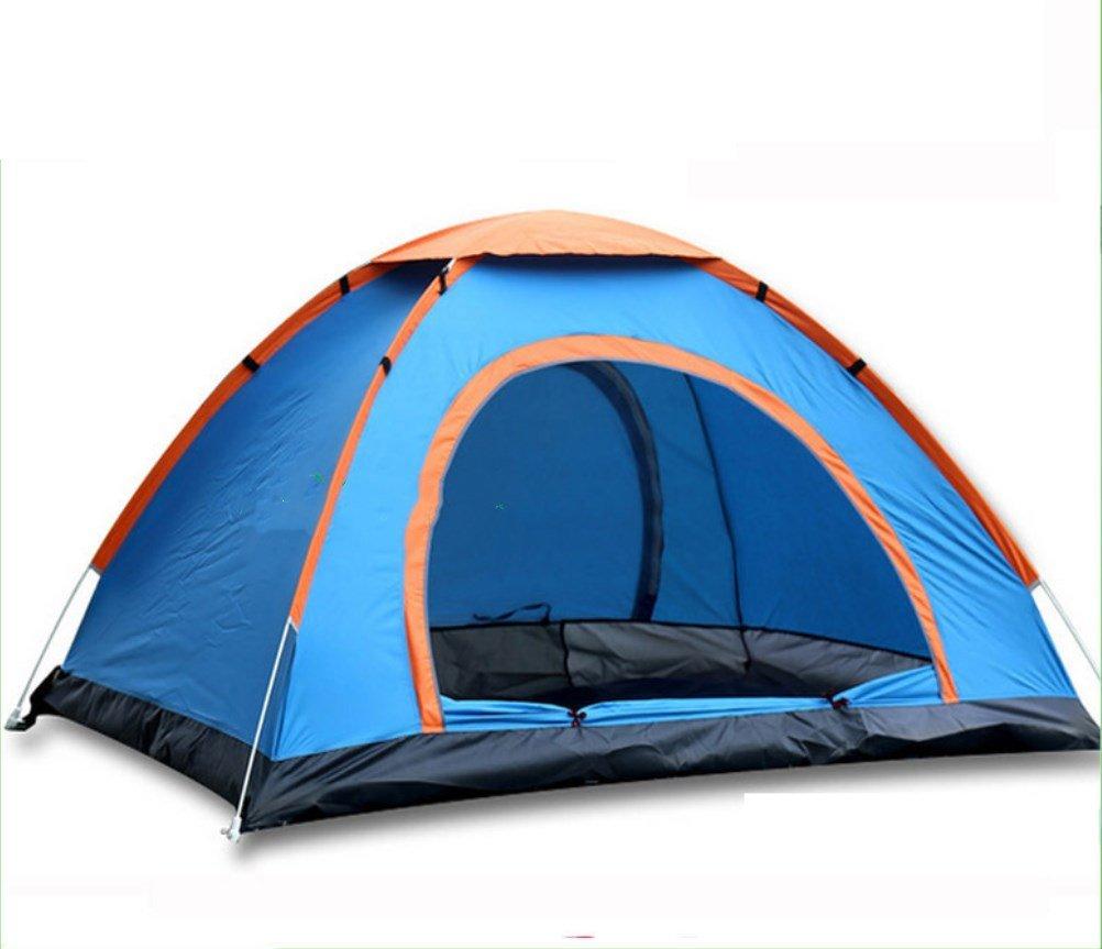 Outdoor Camping Automatische Zelte Doppel Automatische Zelte Eine Sekunde Wegwerfen Zelte Runde Sekunden Öffnen Zelt ZXCV