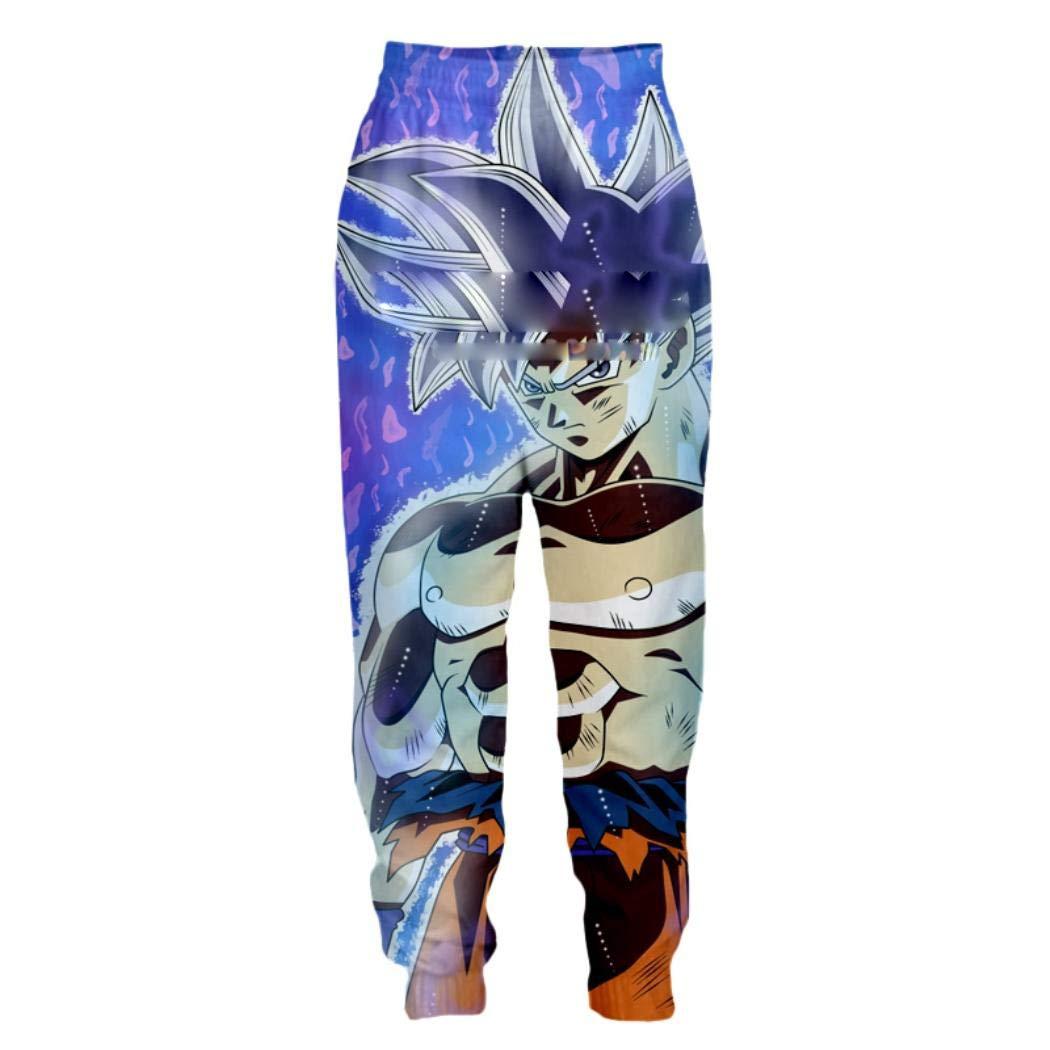 19 XXXLarge Sekuy Trousers 3D Print Anime Dragon Ball Goku Casual Unisex Loose Pants