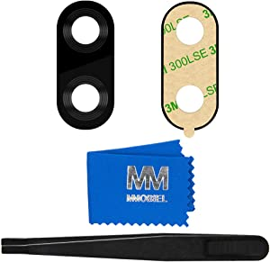 MMOBIEL Back Rear Camera Lens Replacement Compatible with iPhone 7 Plus / 8 Plus incl. Tweezers and Cloth